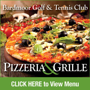 Graphic for Bardmoor Golf & Tennis Club Pizzeria